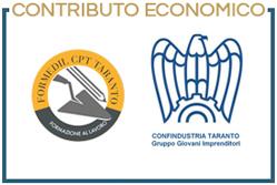 Contributo economico di Formedil Cpt Taranto e Confindustria Taranto Gruppo Giovani Imprenditori
